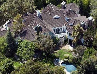 Goldie Hawn ile Kurt Russell malikanede yaşıyor.